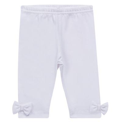 Imagem 1 do produto Legging para bebe em cotton Branca - Tilly Baby - TB168013.01 LEGGING FEMININA BRANCA-2