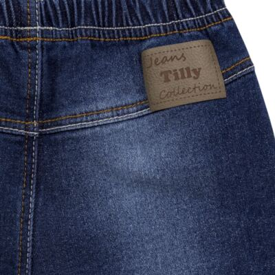 Imagem 2 do produto Shorts para bebê jeans Stonewashed - Tilly Baby - TB168001 SHORTS JEANS MASCULINO-P
