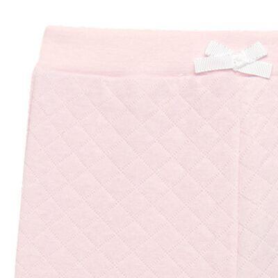 Imagem 2 do produto Calça para bebe em viscomfort matelassê Rose - Petit - 41134344 CALÇA C/ BABADO MATELASSE OVELHA FEM -P