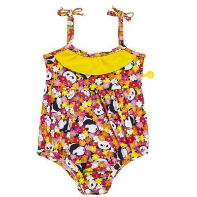 Imagem 1 do produto Maiô para bebe em lycra Pandinha - Cara de Criança - MB2523 PANDINHA MB MAIO BEBE LYCRA-M