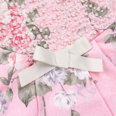 Imagem 3 do produto Vestido c/ Body curto para bebê Floral - Roana