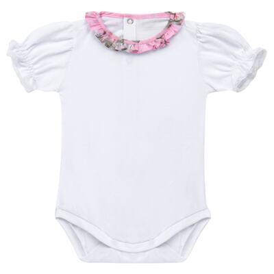Imagem 4 do produto Vestido c/ Body curto para bebê Floral - Roana