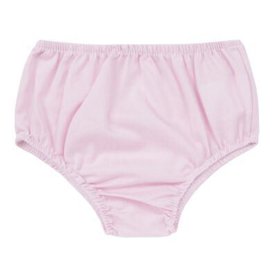 Imagem 4 do produto Vestido c/ Calcinha para bebe em tricoline Flourish - Mini Sailor - 14394440 VESTIDO RECORTE LACO TRICOLINE FLORAL ROSA-9-12