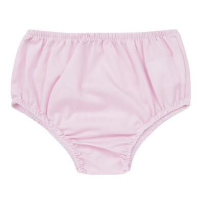 Imagem 4 do produto Vestido c/ Calcinha para bebe em tricoline Flourish - Mini Sailor - 14394440 VESTIDO RECORTE LACO TRICOLINE FLORAL ROSA-0-3