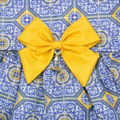 Imagem 4 do produto Vestido c/ calcinha para bebe Azulê - Roana - 24042059022 VESTIDO C/CALCINHA AZUL-P