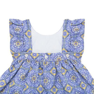 Imagem 5 do produto Vestido c/ calcinha para bebe Azulê - Roana - 24042059022 VESTIDO C/CALCINHA AZUL-P