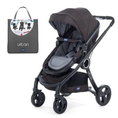 Imagem 1 do produto Carrinho Urban Plus + Color Pack Urban Anthracite - Chicco