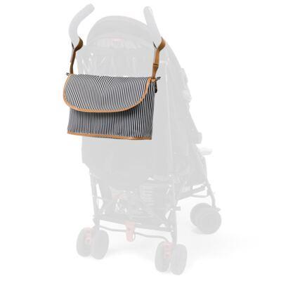 Imagem 7 do produto Mala maternidade Vintage + Bolsa Everyday + Frasqueira Organizadora Manhattan Azul - Masterbag