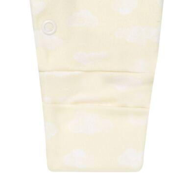 Imagem 2 do produto Macacão longo para bebe em suedine Ursinho - Petit - 22254346 MACACAO ML SUEDINE URSO NEUTRO -P