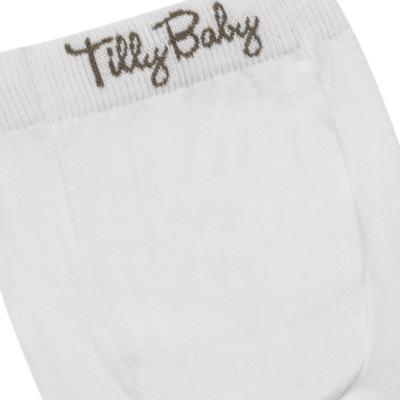 Imagem 3 do produto Meia-Calça para bebe em algodão Branca - Tilly Baby - TB172031.01 ACESSORIO MEIA UNISSEX BASICA BRANCA-2