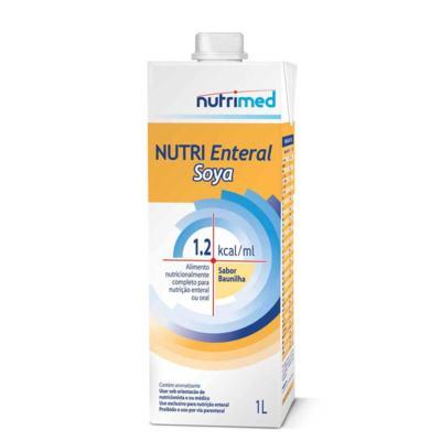 Nutri Enteral Soya Sabor Baunilha 1L