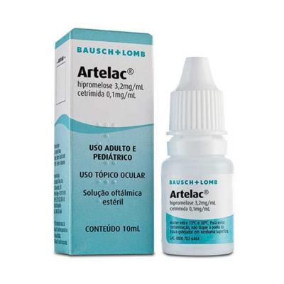 Imagem 1 do produto Artelac 3,2mg/mL Lubrificante Ocular 10mL