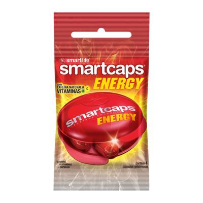 Imagem 1 do produto Smartcaps Energy Smart Life 4 Cápsulas
