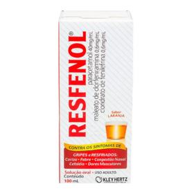 Resfenol Xarope Tangerina - 100ml