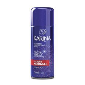 Spray Fixador Karina Hair Versatilidade & Vitalidade Fixação Normal - 250ml