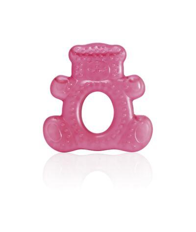Imagem 1 do produto Mordedor com Água Teddy Bear Rosa Multikids Baby - BB144