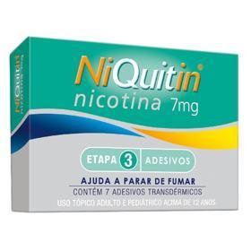 Niquitin - 7mg | 7 adesivos transdérmicos transparentes