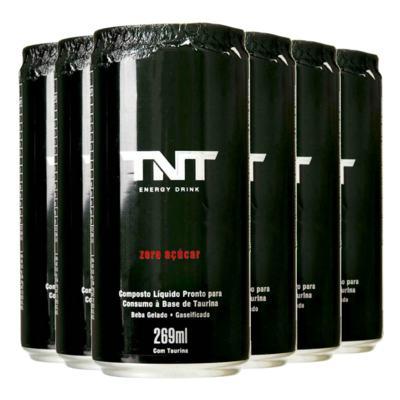 Imagem 1 do produto Kit Energético TNT Energy Drink Zero Açúcar 269ml 6 Unidades