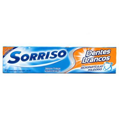 Imagem 6 do produto Creme Dental Sorriso 90g Flúor Mais Cálcio -