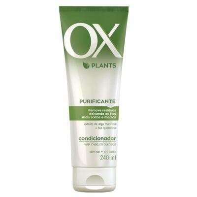 Imagem 3 do produto Kit OX Plants Purificante Shampoo 240ml + Condicionador 240ml