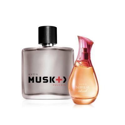 Presente Surreal Island & Musk Vulcain