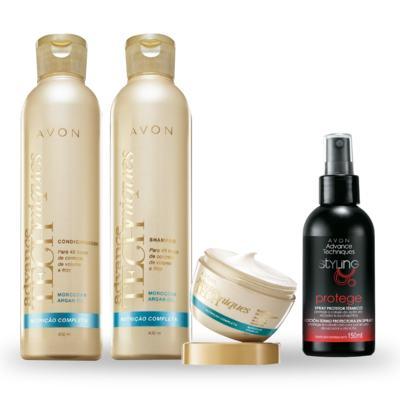 Imagem 1 do produto Kit Avon Cuidados com o Cabelo