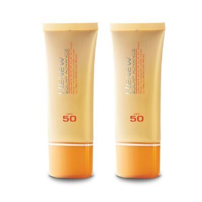 Imagem 1 do produto Kit Protetor Solar Facial Anti-idade Renew FPS 50 50 ml