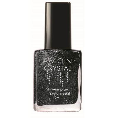 Imagem 2 do produto Esmalte Avon Nailwear Pró+ Crystal - Esmalte Avon Nailwear Pró+ Crystal - Preto