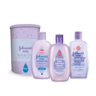 Imagem 1 do produto Kit Johnson's Baby Hora do Sono Sabonete Líquido 200ml + Loção Hidratante 200ml + Colônia 200ml