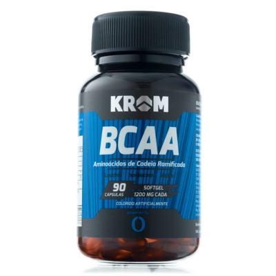 Imagem 2 do produto Suplemento BCAA Krom 90 Cápsulas 2 Unidades