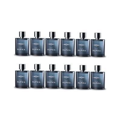 Kit Alpha Desodorante Colonia Spray 100ml - 12 Unidades