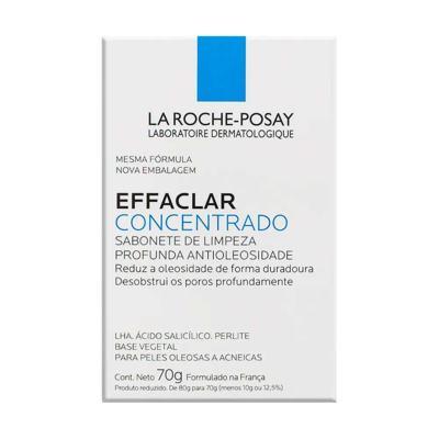 Effaclar Concentrado La Roche-Posay Sabonete Facial em Barra 70g