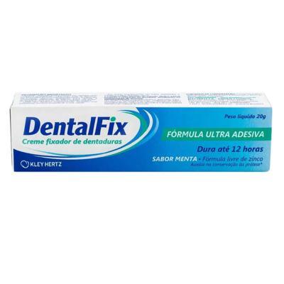 DentalFix Creme Fixador de Dentaduras Sabor Menta 20g