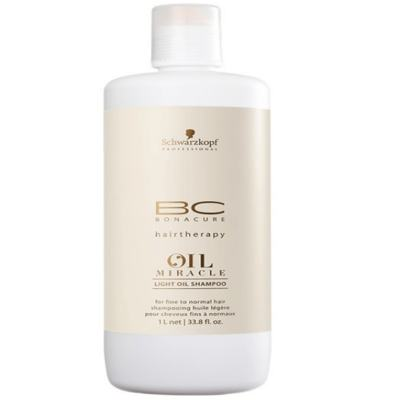Schwarzkopf BC Bonacure Oil Miracle Light Oil Shampoo