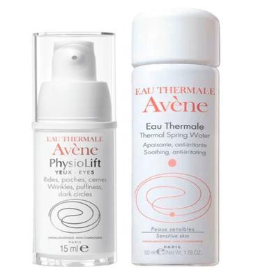 Avene Kit Physiolift Olhos Antiidade 15ml + Agua Termal 50ml