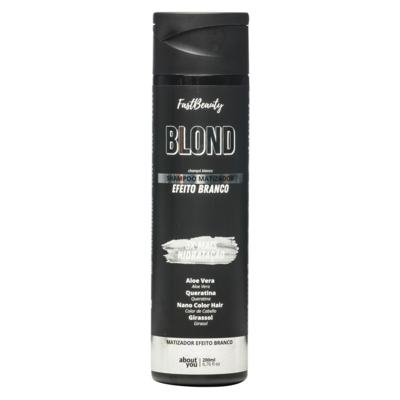 About You Fast Beauty Blond - Shampoo Matizador Efeito Branco - 300ml