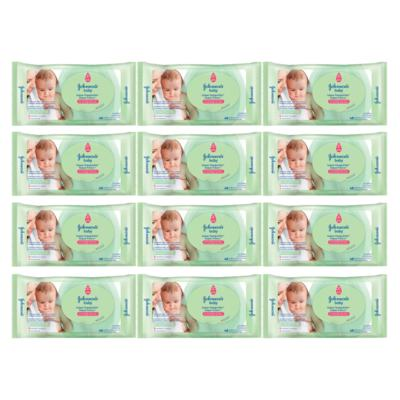 Imagem 1 do produto Kit Johnson Baby Toque Sequinho - Toalhas Umedecidas - 12x48 Un