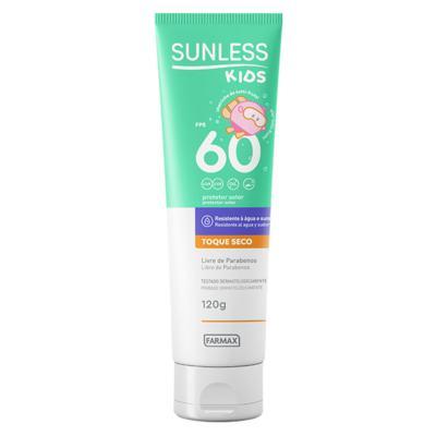 Imagem 1 do produto Protetor Solar Infantil Sunless Kids FPS 60 - 120g