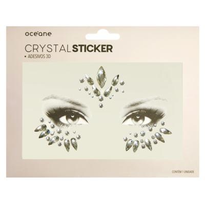 Adesivo Facial Océane - Crystal Sticker 3D S4 - 1 Un
