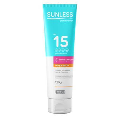 Protetor Solar Sunless - Toque Seco FPS 15 - 120g