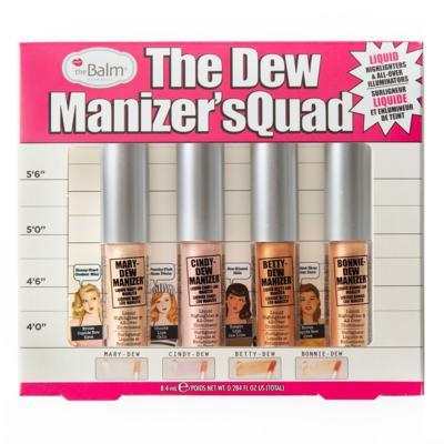 The Dew Manizer' Squad TheBalm - Kit de Iluminadores - Kit