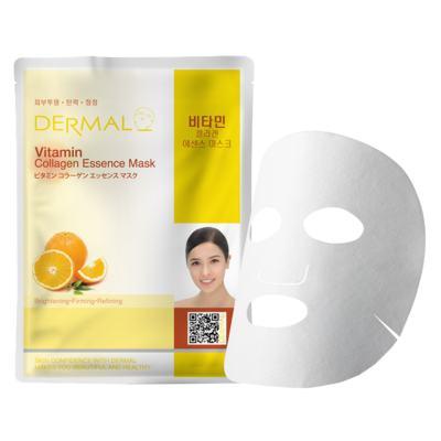 Máscara Facial Revitalizante Dermal - Colágeno com Vitamina C - 23g