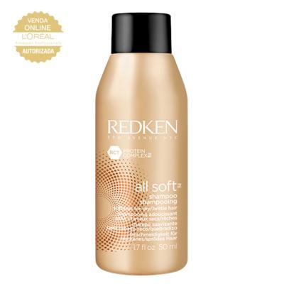 Redken All Soft Travel Size - Shampoo Hidratante - 50ml