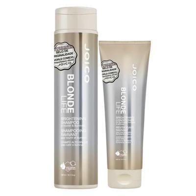 Imagem 1 do produto Joico Blonde Life Brightening Kit - Condicionador + Shampoo - Kit
