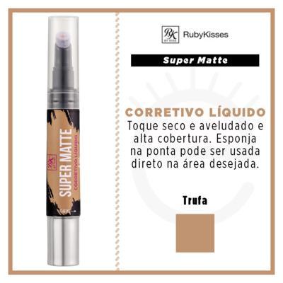 Imagem 4 do produto RK by Kiss Corretivo Líquido Super Matte - Trufa