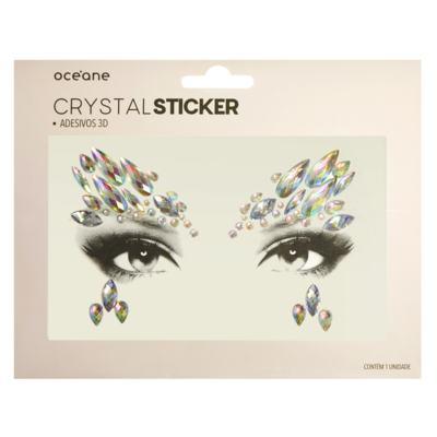 Imagem 1 do produto Adesivo Facial Océane - Crystal Sticker 3D S1 - 1 Un