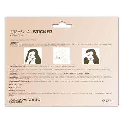 Imagem 2 do produto Adesivo Facial Océane - Crystal Sticker 3D S1 - 1 Un