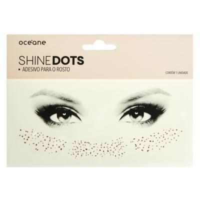 Imagem 1 do produto Adesivo para Rosto Océane - Shine Dots Rosé - 1 Un