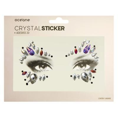 Imagem 1 do produto Adesivo Facial Océane - Crystal Sticker 3D S3 - 1 Un