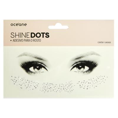 Imagem 1 do produto Adesivo para Rosto Océane - Shine Dots Dourado - 1 Un